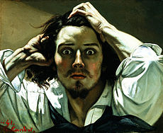 COURBET Gustave The Desperate Man 1844-1845