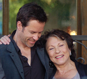 Claire Bloom - Bloom with Guy Pearce, a fellow actor in The King's Speech, January 2011