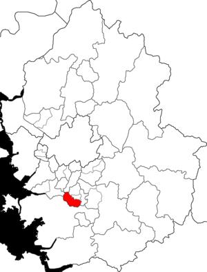 Gwonseon-gu - Image: Gwonseon gu Suwon