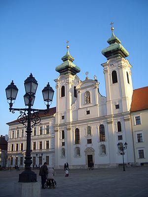 Győr-Moson-Sopron County - Image: Gyoribencestemplom