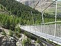 Hängebrücke Zermatt - Gletschergarten - SkyPromenade.com - panoramio.jpg