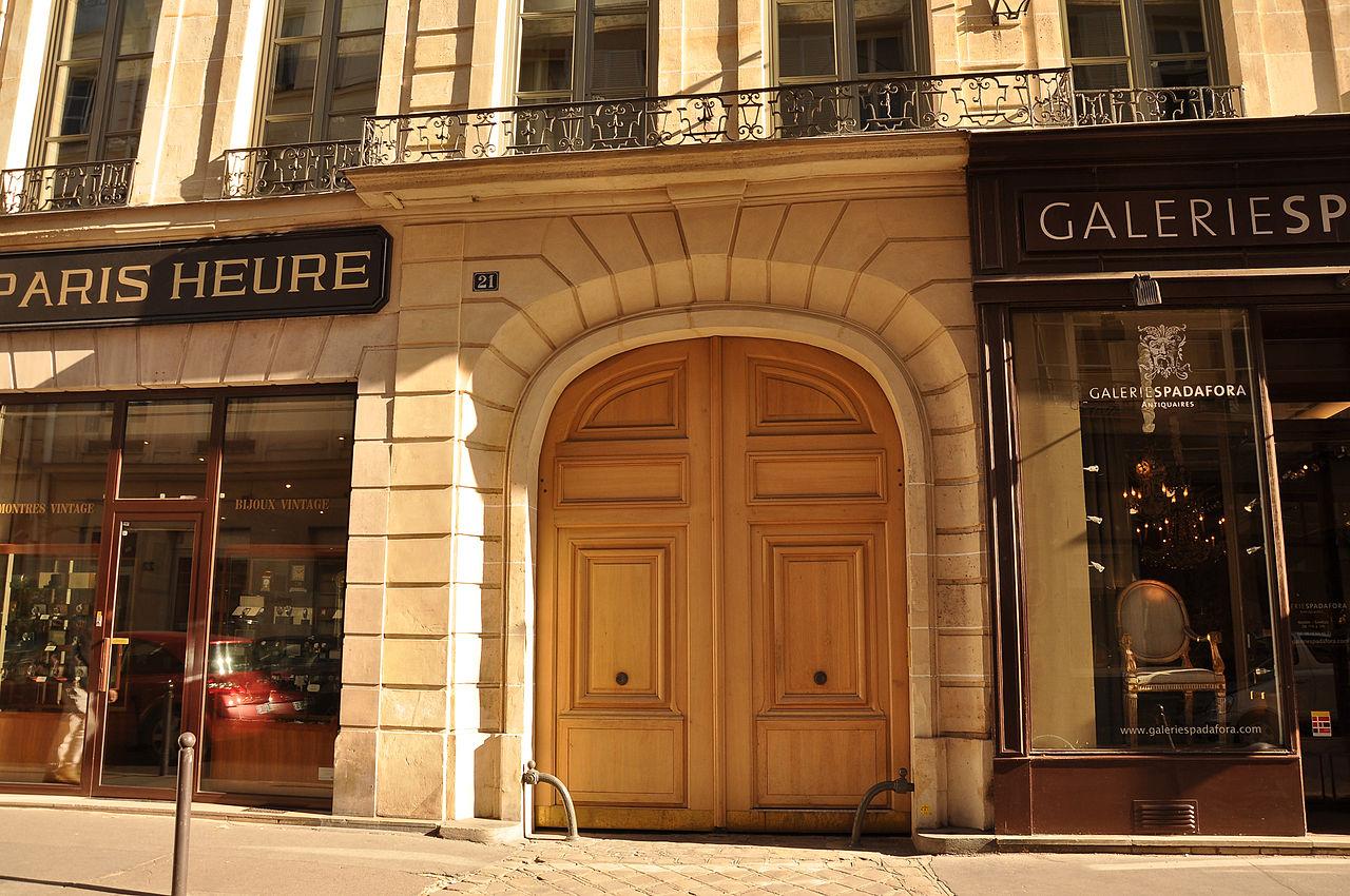 File h tel particulier 21 rue du bac paris wikimedia commons - Poltrona frau rue du bac ...