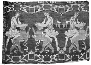 HDFRE V4 D289 Figured silk textile representing Samson, 6th or 7th century.png
