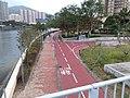 HK 沙田北 Shatin North 大涌橋路 Tai Chung Kiu Road 城門河 Shing Mun River On King Street Park February 2019 SSG.jpg