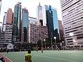 HK 灣仔 Wan Chai 修頓球場 Southorn Playground evening February 2019 SSG 05.jpg