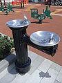 HK Sai Yin Pun 中山紀念公園 Sun Yat-sen Memorial Park July-2010 fountain drinking water Children playground.JPG