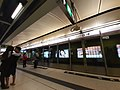 HK TKL 調景嶺站 Tiu Keng Leng MTR Station platform December 2019 SS2 01.jpg