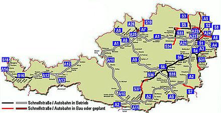 Carte Ferroviaire Autriche | My blog