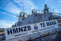 HMNZS TE MANA ( F111) Open Day