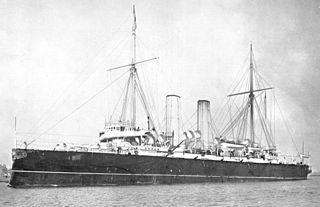 1896 Edgar-class protected cruiser of the Royal Navy