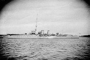 HMS Cambrian (1916) - Image: HMS Cambrian (1915)
