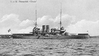 HSwMS <i>Thule</i> (1893) Swedish Svea-class coastal defence ship