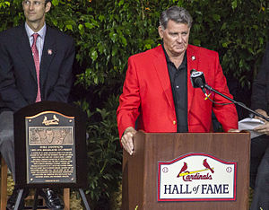 Mike Shannon - Shannon Cardinal Hall of Fame speech in 2014.