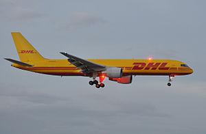Deutsche Post - DHL Aero Expreso Boeing 757-200F