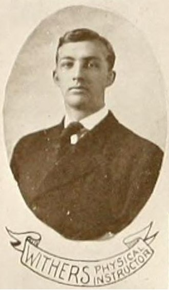 H. W. Withers - Withers pictured in the Colonial Echo 1907, William and Mary yearbook