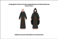 Habit of the discalced Augustinian priest-friars of the congregation of France.png
