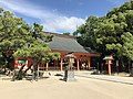 Haiden of Sumiyoshi Shrine 3.jpg