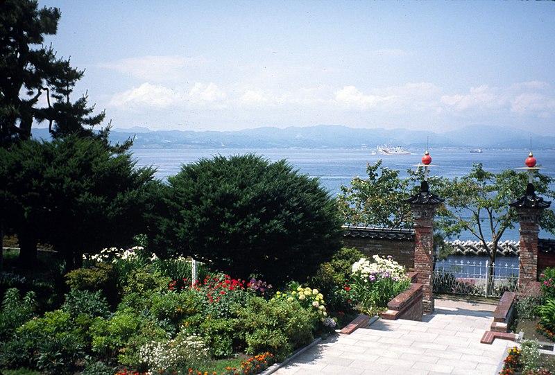 Cementerio para extranjeros, Hakodate, Hokkaido (Japón).