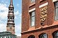Hamburg, Speicherstadt, Block P (und Katharinenkirche) -- 2016 -- 3003.jpg