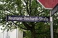 Hamburg-Wandsbek Neumann-Reichardt-Straße Straßenschild.jpg