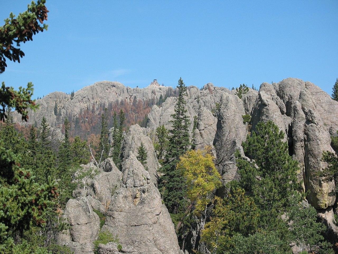 harney peak height