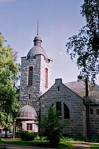 Juutila Foundry - Hartola Church in Päijänne Tavastia