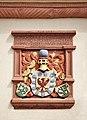 Haslach townhall - Coat of arms Fürstenberg.JPG