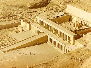 Mortuary Temple of Hatshepsut temple in Luxor, Egypt