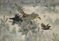 Hawk and Black-Game (Bruno Liljefors) - Nationalmuseum - 19423.tif