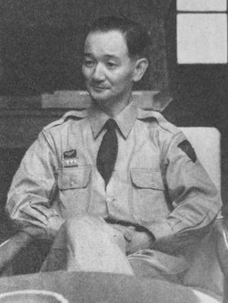 Keizō Hayashi - Hayashi as Chief of the 1st (Ground) Staff in 1953
