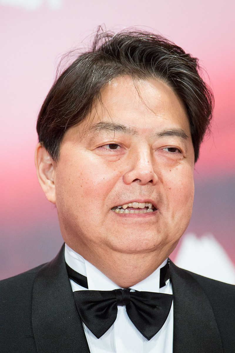 Hayashi Yoshimasa a Minister of Education, Culture, Sports, Science and Technology at Opening Ceremony of the Tokyo International Film Festival 2017 (39305981865).jpg