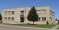 Hayes County, Nebraska courthouse from SE 1.JPG