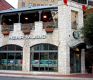 Hear Music - Starbucks' second Hear Music Coffeehouse at the South Bank development adjacent to the River Walk.
