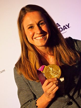 Heather O'Reilly - Heather O'Reilly with her 2012 Olympics gold medal