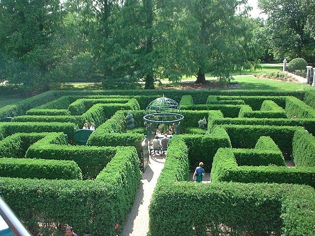 File:Hedge Maze, St Louis Botanical Gardens (St Louis, Missouri ...