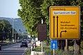 Heidelberg - Geschwindigkeitssignal in der Speyerer Straße.JPG