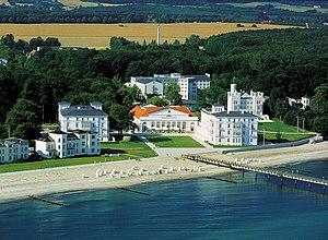 Grand Hotel Heiligendamm - Aerial view of the luxury hotel complex
