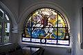 Heiligenkreuz - Haus Edelweiss - Bleiglasfenster.jpg