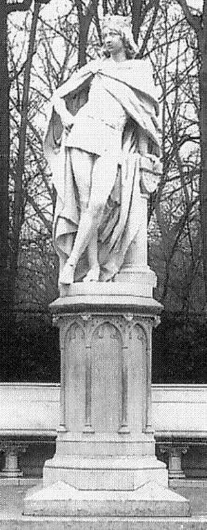 Henry II, Margrave of Brandenburg-Stendal - Statue in the former Siegesallee in Berlin, 1900