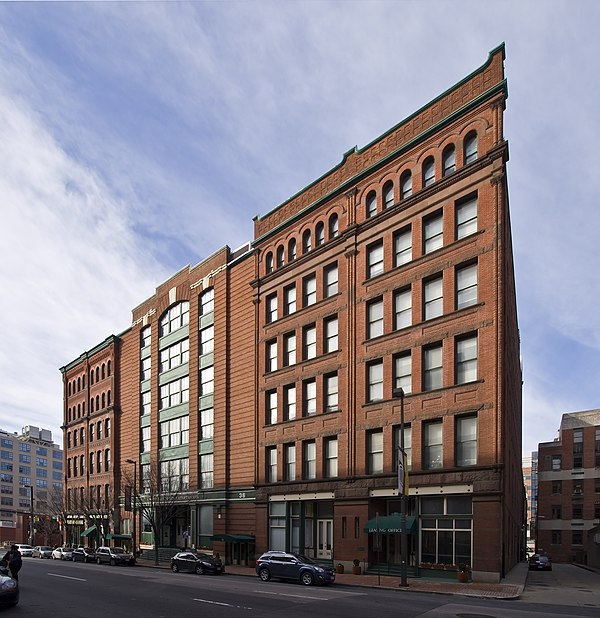 Inner Harbor Lofts Baltimore Md: Industrial Buildings And Structures On The National