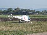 Helicopter on Diósi meadow. - Aszófő, Hungary.JPG