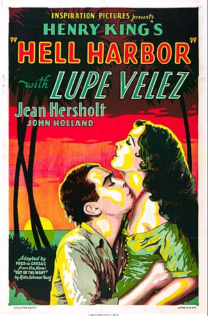 Hell Harbor - Theatrical release poster
