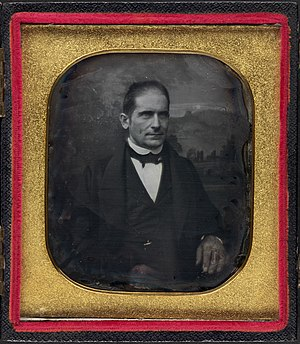 Henry Clarke Wright - Daguerreotype of Wright circa 1847