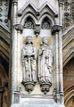 Henry V & Catherine of Valois, Westminster Abbey, North Transept, Lower Tier.jpg