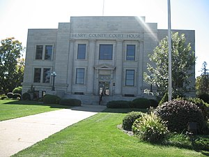 Henry County, Iowa - Image: Henry county courthouse iowa