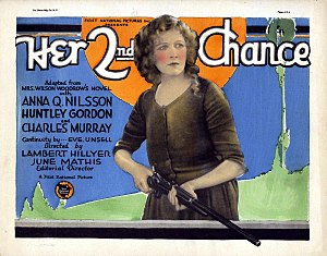 Her Second Chance (1926 film) - Lobby card