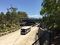 Herston busway station and Northern Busway, Brisbane.JPG