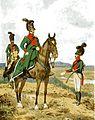 Hessische Landdragoner zu Pferd und zu Fuß 1804.jpg