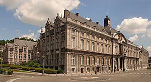 Prince-Bishopric of Liège - The Archiepiscopal Palace at Liège
