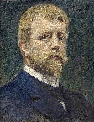 Hans Heyerdahl - Self-portrait (1892)